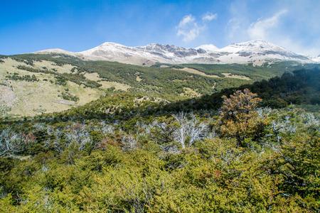 Landscape of National Park Los Glaciares, Patagonia, Argentina