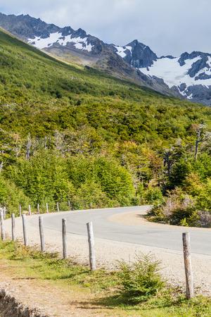 tierra: Road near Ushuaia, Tierra del Fuego island, Argentina
