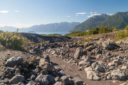 mount tronador: Landscape of Vicente Perez Rosales National Park, Chile