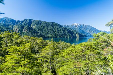 mount tronador: Lago Todos los Santos (Lake of all the Saints), Chile