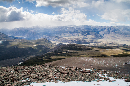Mountains in National Park Los Glaciares, Argentina