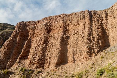 rock formation: Garganta del Diablo valley near Tilcara village, Argentina