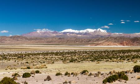 avaroa: Dry high altitude landscape of the Altiplano in Bolivia