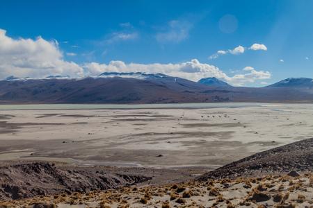 Laguna Khara lake in Bolivia