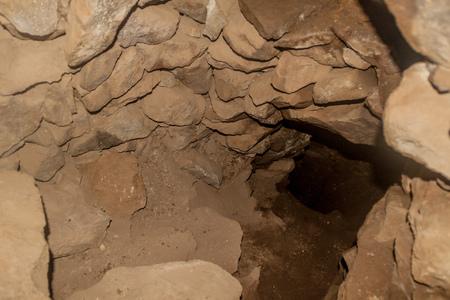 Resti di un'ex miniera nella città di Pueblo Fantasma, Bolivia sudoccidentale Archivio Fotografico