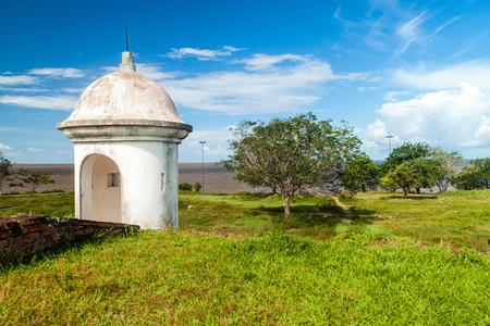st  joseph: Small tower at St. Joseph (Sao Jose) fortress in Macapa, Brazil