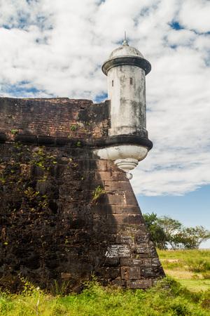 st  joseph: Small tower at St. Joseph fortress in Macapa, Brazil