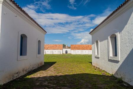 st  joseph: Buildings of St. Joseph (Sao Jose) fortress in Macapa, Brazil