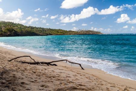 Playa Maguana beach near Baracoa, Cuba