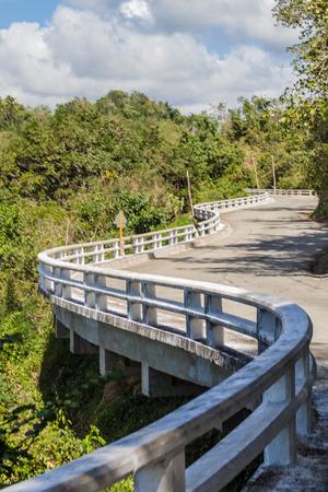 La Farola road between Guantanamo and Baracoa, Cuba