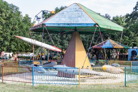 holguin: Children playground in Holguin, Cuba