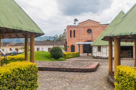 Archeological museum in Obando near San Agustin, Colombia