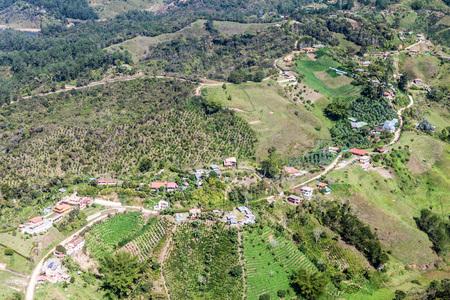 antioquia: Countryside near Guatape, Colombia Stock Photo