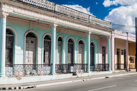 Traditional houses in Guantanamo, Cuba