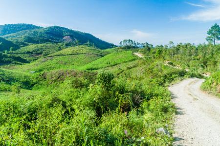 Landscape near Yalambojoch village, Guatemala