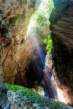 Cueva El Jardin (Garden Cave), part of the Candelaria cave complex, near Mucbilha village, Guatemala