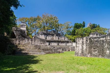 Acropolis Sur at the archaeological site Tikal, Guatemala