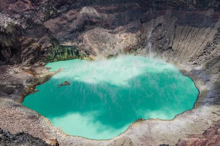 Crater lake of Santa Ana volcano, El Salvador