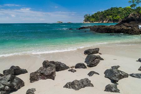 Beach in National Park Manuel Antonio, Costa Rica