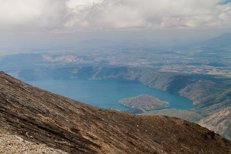 Coatepeque lake, El Salvador
