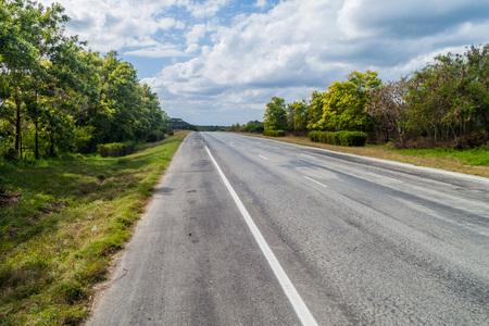 Highway near Santa Clara, Cuba