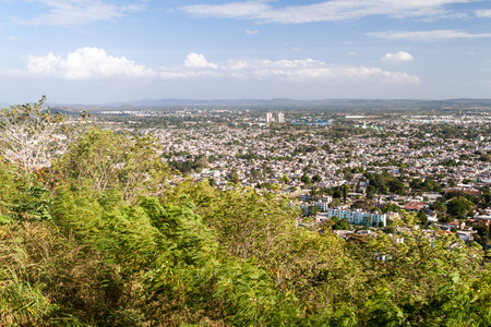 holguin: Aerial view of Holguin, Cuba