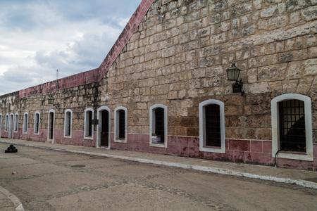 La Cabana fortress in Havana, Cuba