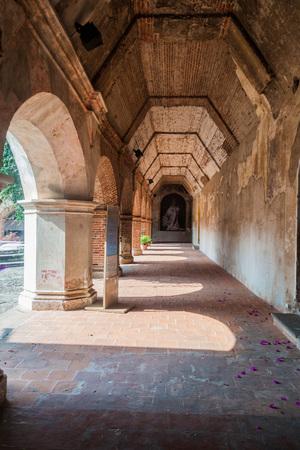 Ruins of Convent of the Mercedarians (Convento de La Merced) in Antigua, Guatemala