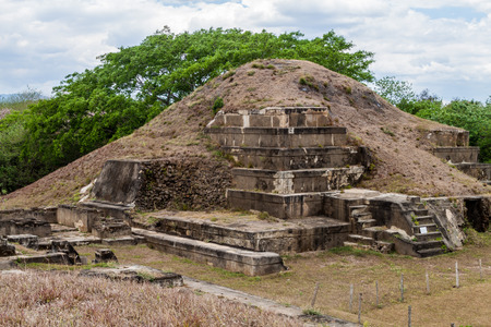San Andres ruins, El Salvador