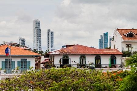View of Casco Viejo (Historic Center) of Panama City
