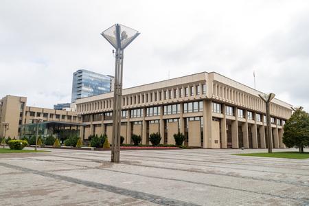 Parliament House in Vilnius, Lithuania