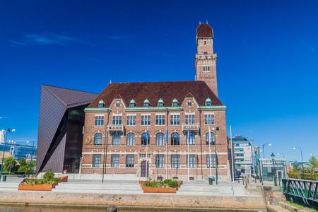 MALMO, ZWEDEN - AUGUSTUS 27, 2016: Wereld Maritieme Universiteit in Malmo, Zweden