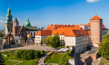Wawel castle in Krakow, Poland Editorial