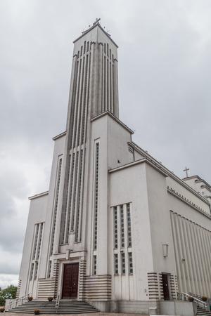 kaunas: Christs Resurrection Basilica in Kaunas, Lithuania.
