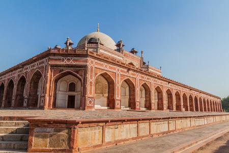 Humayun tomb in Delhi, India.