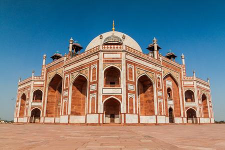 Humayun tomb in Delhi, India Stock Photo
