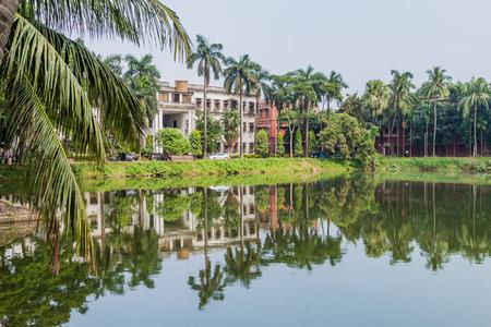 residence: View of a pod at the campus of University of Dhaka, Bangladesh