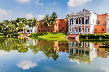 Sadarbari (Sardar Bari) Rajbari palace, Folk Arts Museum in Sonargaon town, Bangladesh