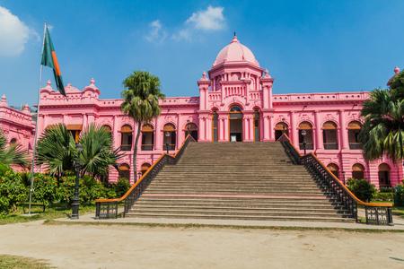 Ahsan Manzil, former residential palace of the Nawab of Dhaka, Bangladesh