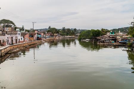 Yumuri river in Mananzas, Cuba Stock Photo