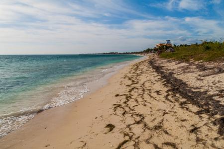 Playa Ancon beach near Trinidad, Cuba Stock Photo