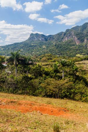 View of Guasasa valley near Vinales, Cuba