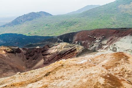 Crater of Cerro Negro volcano, Nicaragua