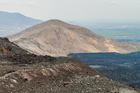 View from Cerro Negro volcano, Nicaragua