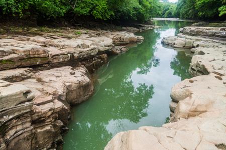 Los Cangilones de Gualaca - mini canyon in Panama