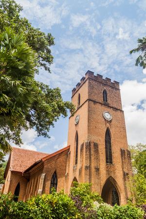 Anglican St. Pauls church in Kandy, Sri Lanka Stock Photo