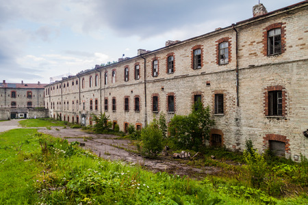 Buildings of the Patarei (former sea fortress and prison) in Tallinn, Estonia
