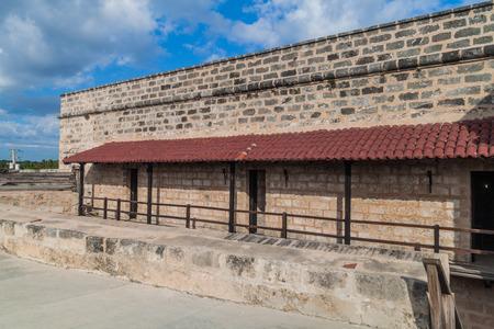 View of Castillo de Jagua castle, Cuba Stock Photo - 92808299