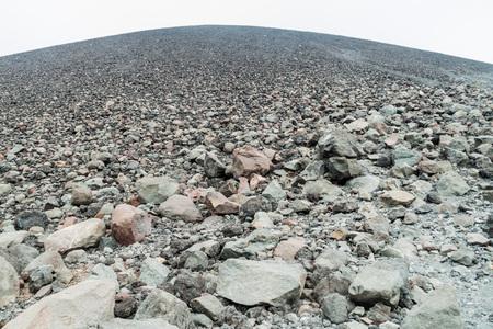 Volcanic material of Cerro Negro volcano, Nicaragua