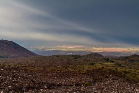 Landscape surrounding Telica volcano, Nicaragua